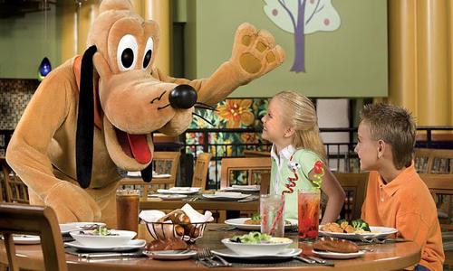 comida con goofy